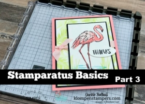 Video teaching how to use the Stamparatus