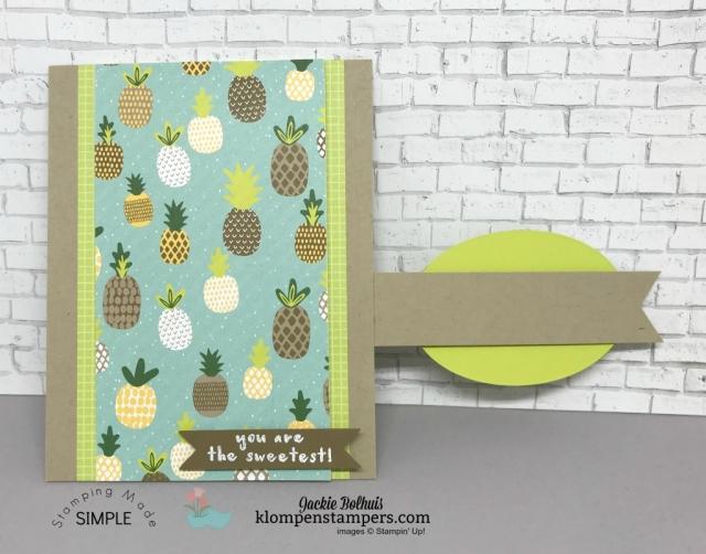 Tutti-Frutti Fun Fold Card