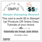 Stamping Rewards