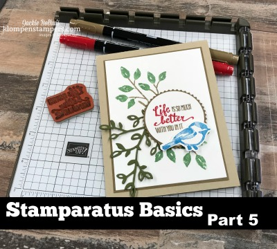 Stamparatus Basics Part 5