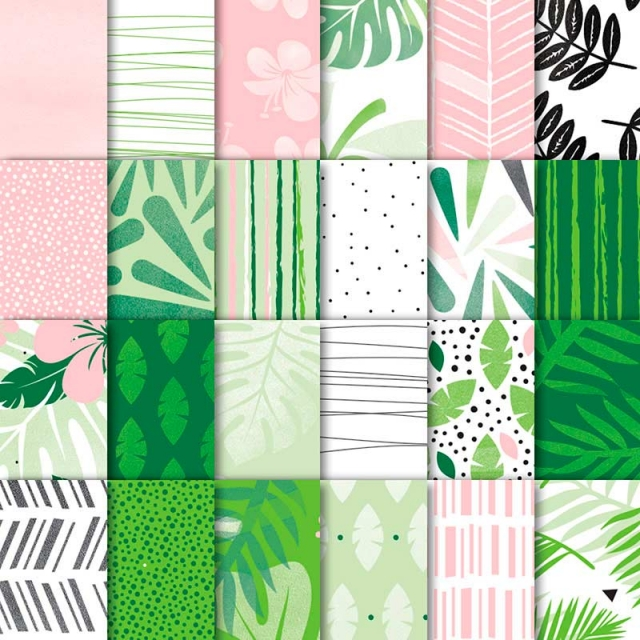 Tropical Escape Designer Series Paper by Stampin Up