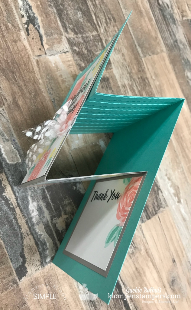 Stampin' Up! Fun Fold Card tutorial
