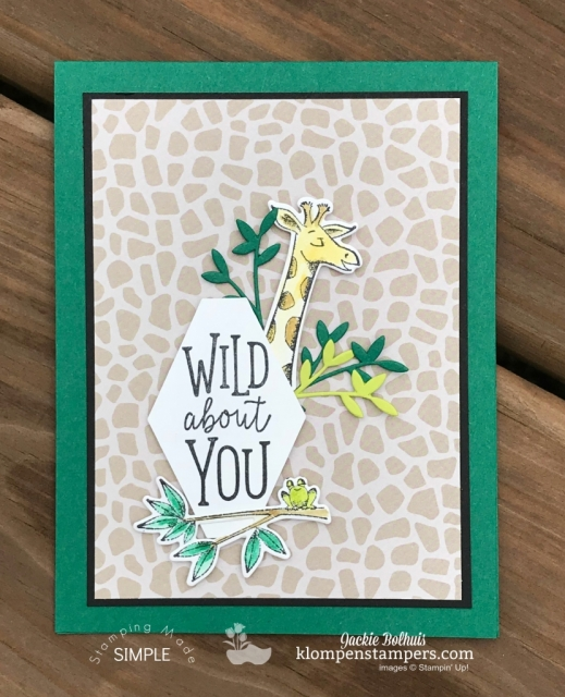 Easy handmade Cards with Animal Expedition and Animal Outing
