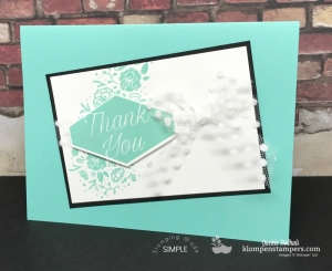 Color Family: Brights Collection Easy monochromatic card