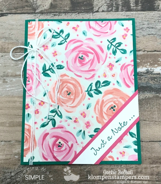 Make a handmade note card