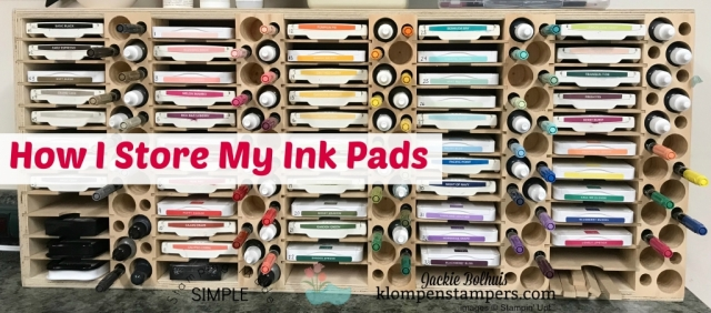 My storage solution for Stampin' Up! Ink Pads