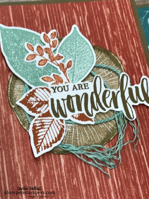 Stampin' Up Rooted in Nature