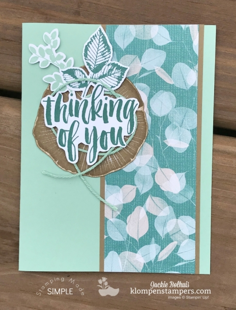 natures poem stampin up