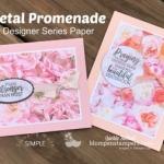 Simple Greeting Cards Using Petal Promenade DSP