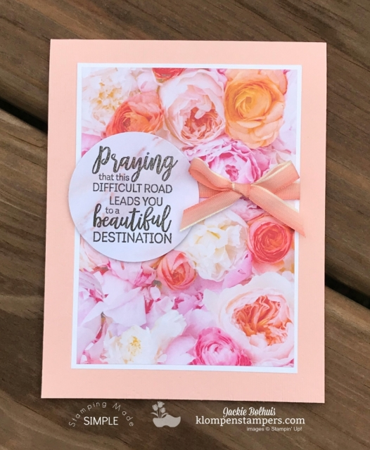 Simple greeting cards using petal promenade dsp klompen stampers card making designs ideas made easy m4hsunfo