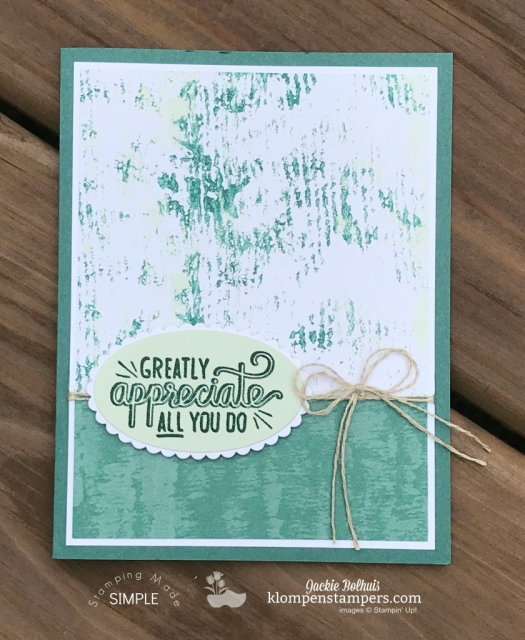 Video Tutorial with Jackie Bolhuis, Klompen Stampers. Learn how to make these quick & easy cards with designer series paper or scrapbook paper.