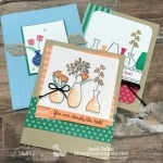 Many Ideas With the Varied Vases Stamp Set | Throwback Thursday
