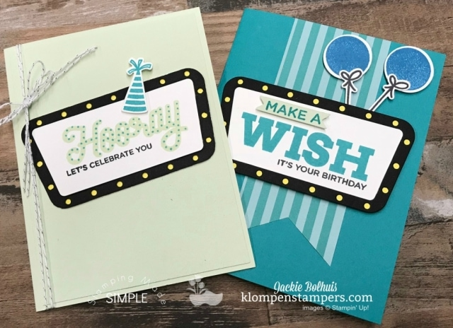 how to make a birthday card using broadway birthday