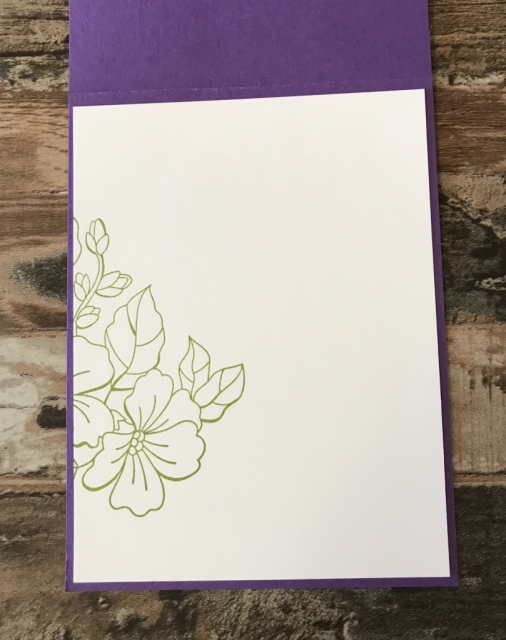 Stampin Up blended seasons and Stitched Seasons Framelits