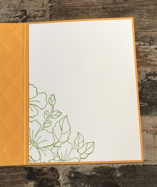 Stampin up blended seasons