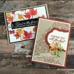 2 Fall Card Design Ideas Using Blended Seasons