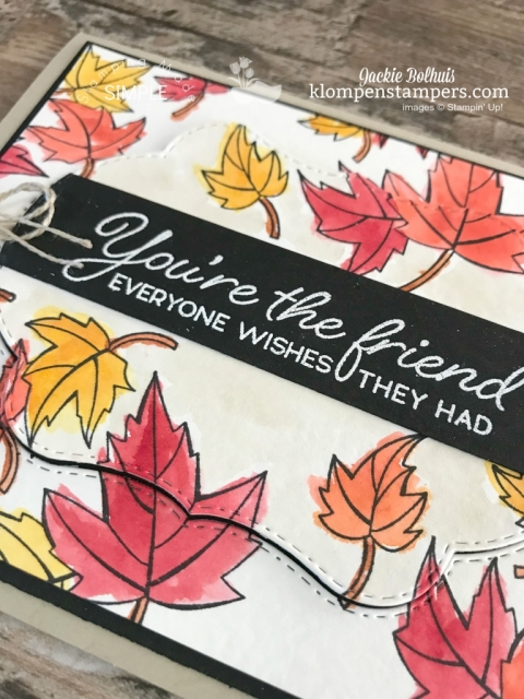 card design ideas with stampin up blended seasons watercoloring techniques
