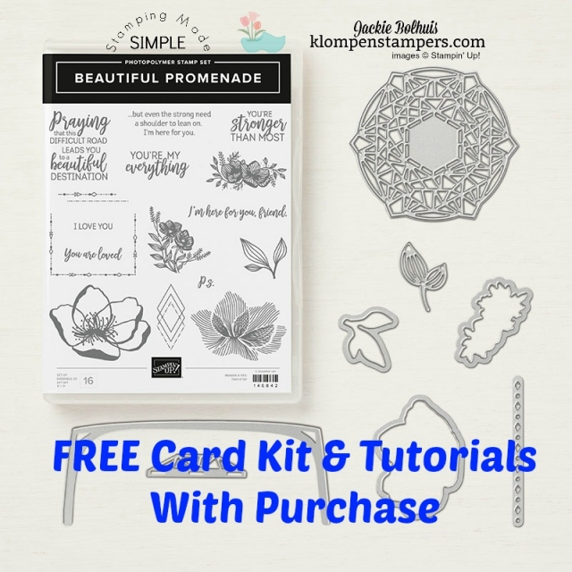 Free card kits & tutorials with purchase