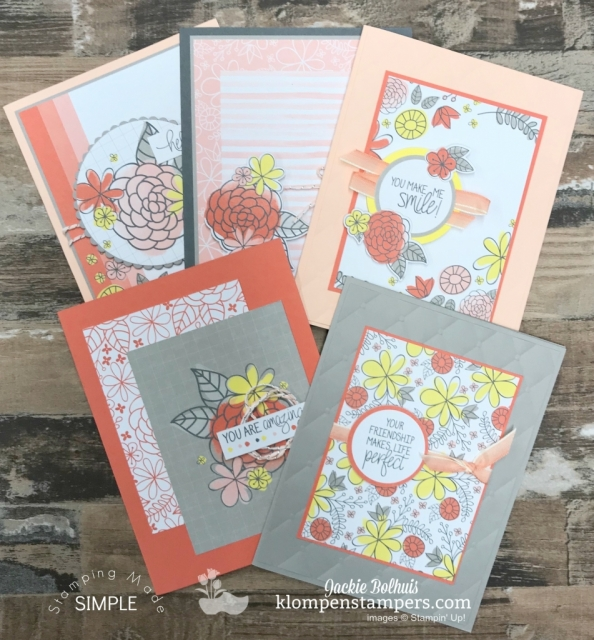 making cards ideas with jackie bolhuis klompen stampers
