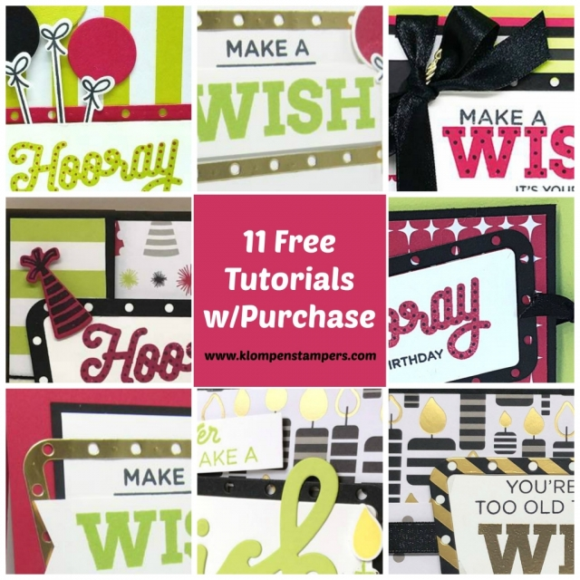cardmaking free tutorials