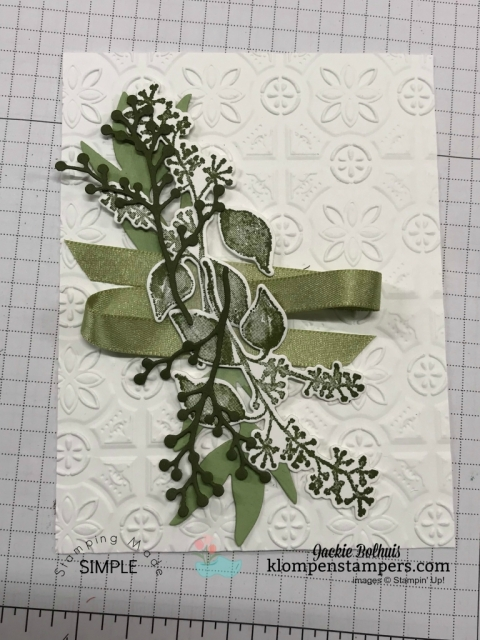 Card Design Ideas and Die Cut tips with Jackie Bolhuis, Klompen Stampers
