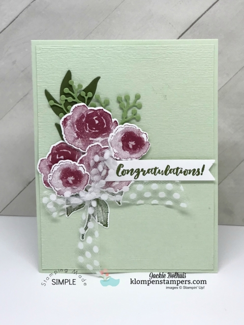 Stampin' Up! All Occasion Cards with First Frost bundle.