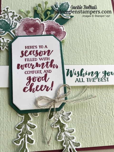 First Frost by Stampin' Up! Makes layering die cuts so fun!