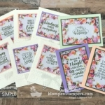 Don't Be Afraid to Cut Your Designer Series Paper! {Features Petal Promenade}