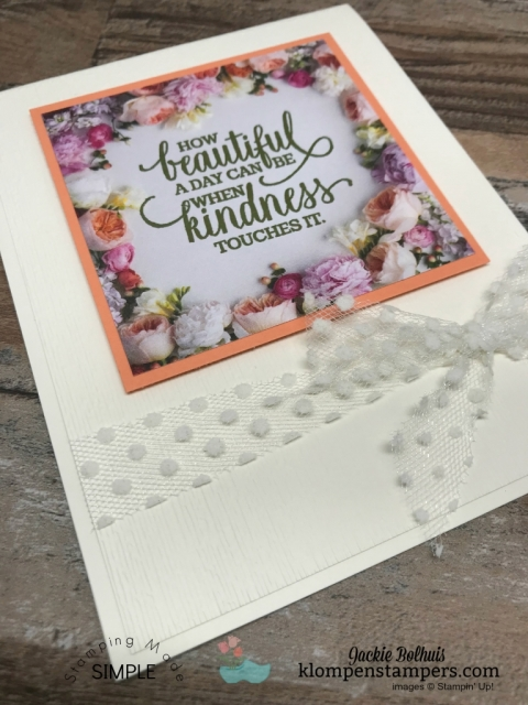 petal promenade quick and easy cards