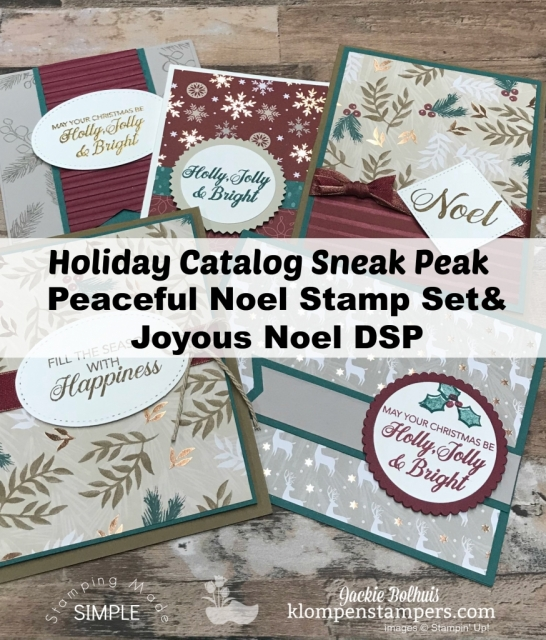 Handmade cards by Jackie Bolhuis Klompen Stampers