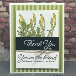 Fall Friendship Card Featuring Blended Seasons Bundle
