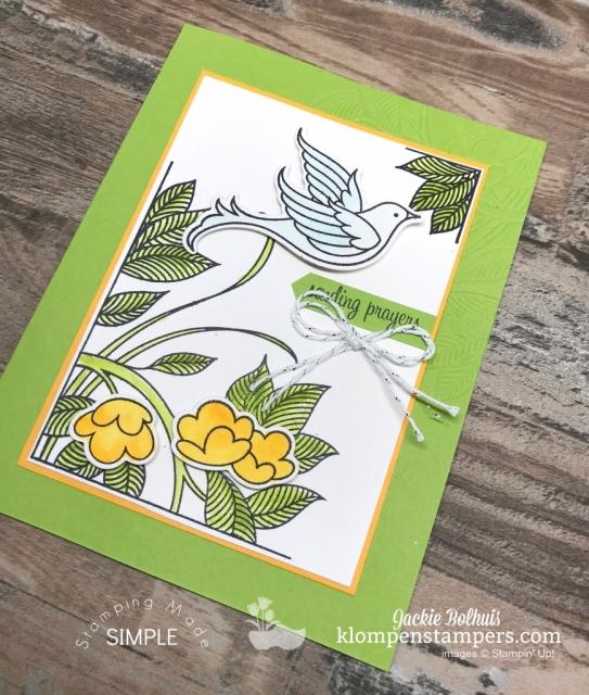 Simple card making