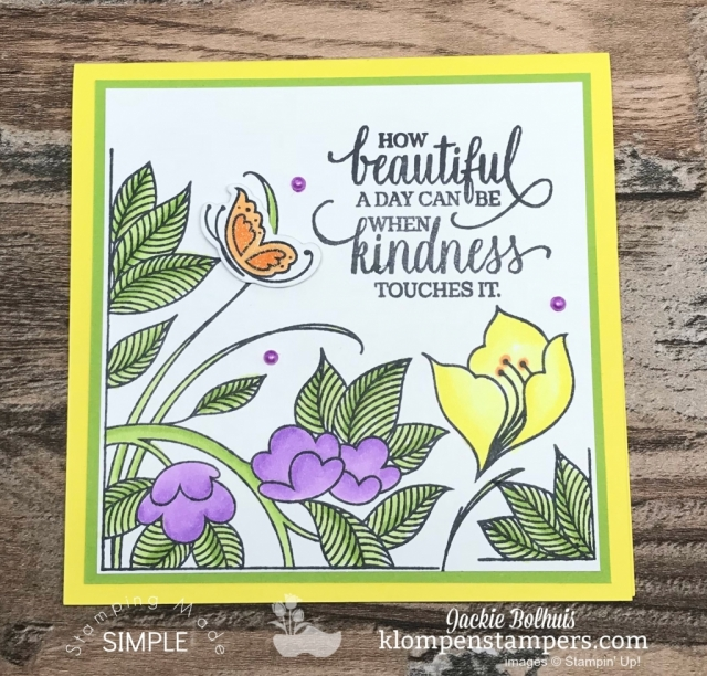 Coloring and blending tips using stampin' blends