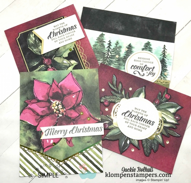 diy christmas card ideas made easy klompen stampers