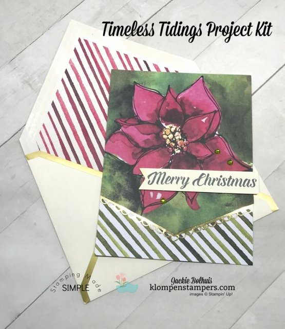 DIY Christmas Card Ideas with Jackie Bolhuis, Klompen Stampers