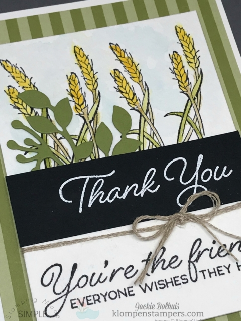 Stampin' Up! Blended Seasons by Jackie Bolhuis Klompen Stampers