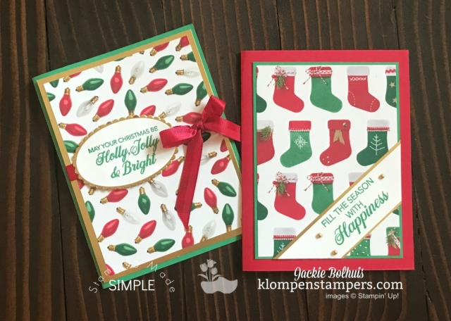 Easy Christmas Cards by Jackie Bolhuis, Klompen Stampers has 4 cards to share today featuring the Stampin' Up! Dashing Deer Stamp set. #cardmaking #greetingcards #stampinupcards #christmascards #jackiebolhuis #klompenstampers