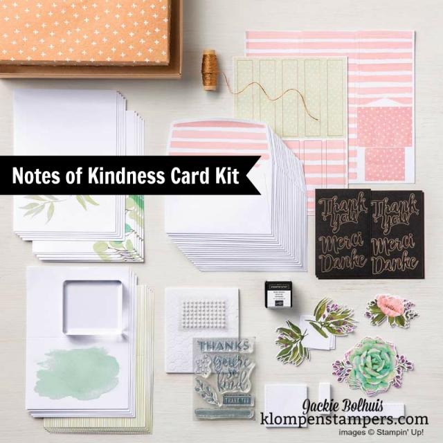 Card Kits on Sale! World Card Making Day Sale on Card Kits October 1-7, 2018 #cardmaking #jackiebolhuis #klompenstampers