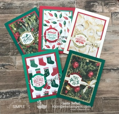 Make 6 Holiday Cards With Matching Envelopes In Under 1 Hour