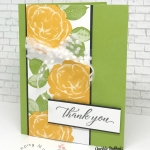 Any Occasion Cards made quick, easy, & beautifully. Join Jackie Bolhuis with Klompen Stampers for this step by step card making tutorial. #greetingcards #cardmaking #stampinupcards #jackiebolhuis #klompenstampers
