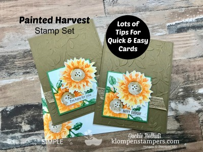 Free Tutorials: Bringing Back the Sunflowers