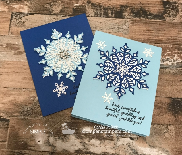 die-cut-snowflake-card-snow-is-glistening-stamp-set