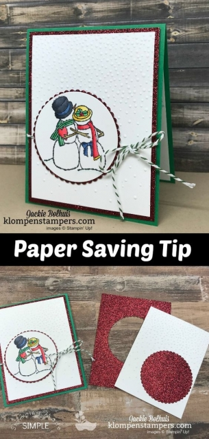 DIY Snowmen Cards with Marker Blending Tips- Discover how quick & easy coloring and blending with alcohol markers can be while making these cute snowmen Christmas or Winter Theme handmade cards. Your friends will love this greeting card with the Spirited Snowmen by Stampin' Up! #christmascards #cardmaking #greetingcards #JackieBolhuis #KlompenStampers #stampinupcards