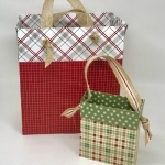 How To Make A Gift Bag With Scrapbook Paper