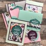 Make 6 Cards Using a One Sheet Wonder