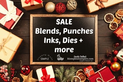 Blends, Punches, Inks, Dies…(and more) ON SALE!!!!