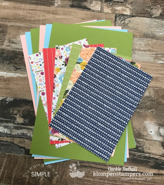 Stampin Up 2019 Occasions Catalog paper Share by Jackie Bolhuis, Klompen Stampers