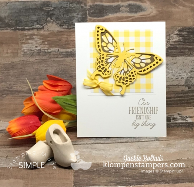 Beauty Abounds Card Image with Yellow Butterflies