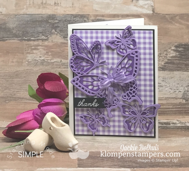 Stampin Up Beauty Abounds in Purple Color Tones