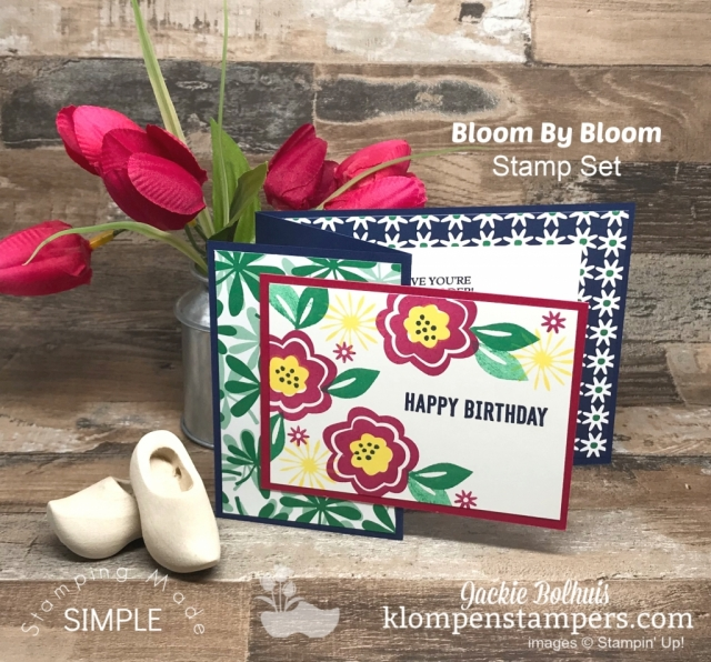 Fun-Fold-Card-Design-Birthday-Card-Navy-Green-and-red-flowers-and-leaves